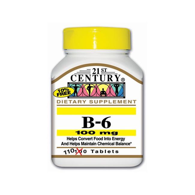 21st CenturyVitamin B-6