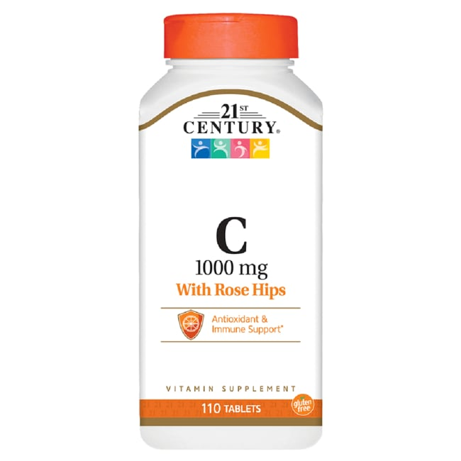 21st Century Natural Vitamin C 1000 with Rose Hips