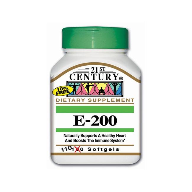21st Century Vitamin E-200