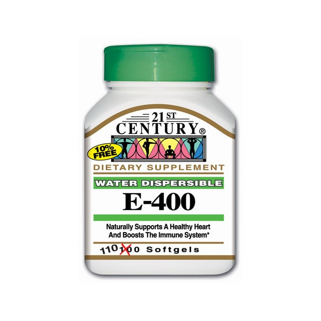 21st CenturyWater Dispersible Vitamin E-400