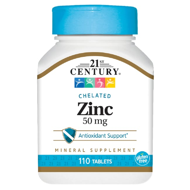 21st CenturyChelated Zinc 50 mg