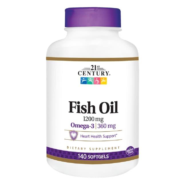 21st CenturyFish Oil Omega-3 Maximum Strength