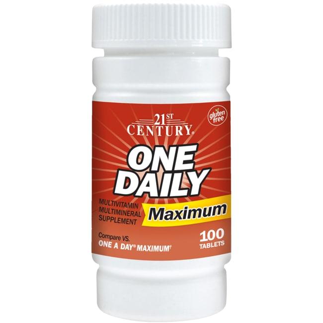 21st CenturyOne Daily Maximum