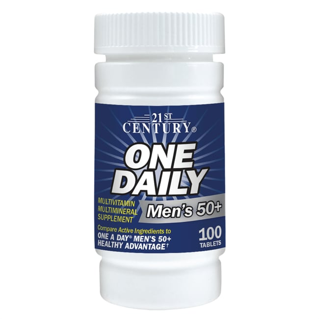 21st CenturyOne Daily Men's 50+