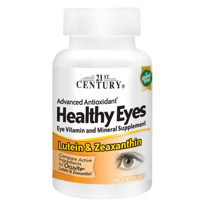 21st CenturyHealthy Eyes with Lutein & Zeaxanthin