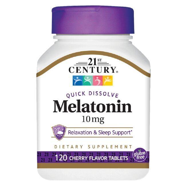 21st CenturyQuick Dissolve Melatonin - Cherry