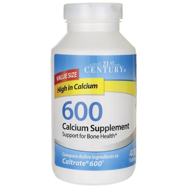 21st Century 600 Calcium Supplement
