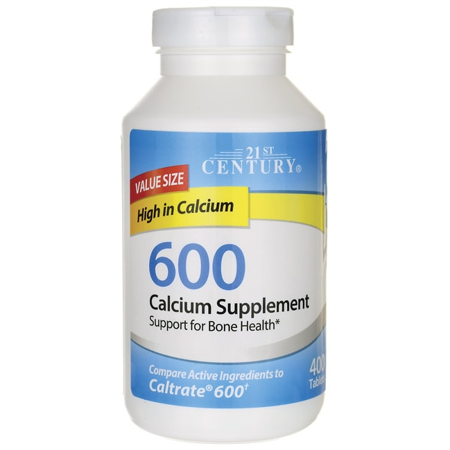 21st Century600 Calcium Supplement