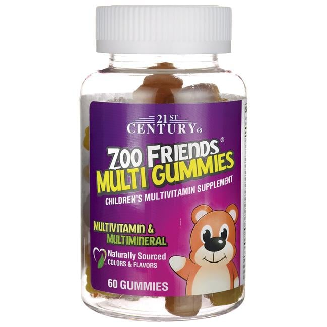 21st Century Zoo Friends Multi Gummies