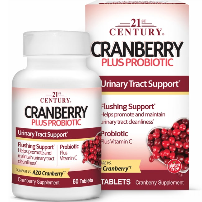 21st CenturyCranberry Plus Probiotic