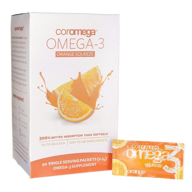 Coromega Omega-3 Orange Squeeze
