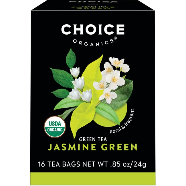 Choice Organic TeasJasmine Green Tea