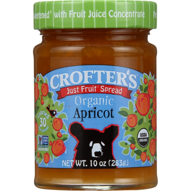 Crofter's Just Fruit Spread Organic Apricot