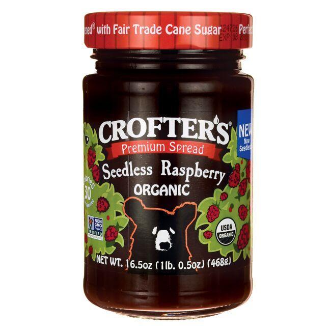 Crofter'sOrganic Premium Spread - Seedless Raspberry