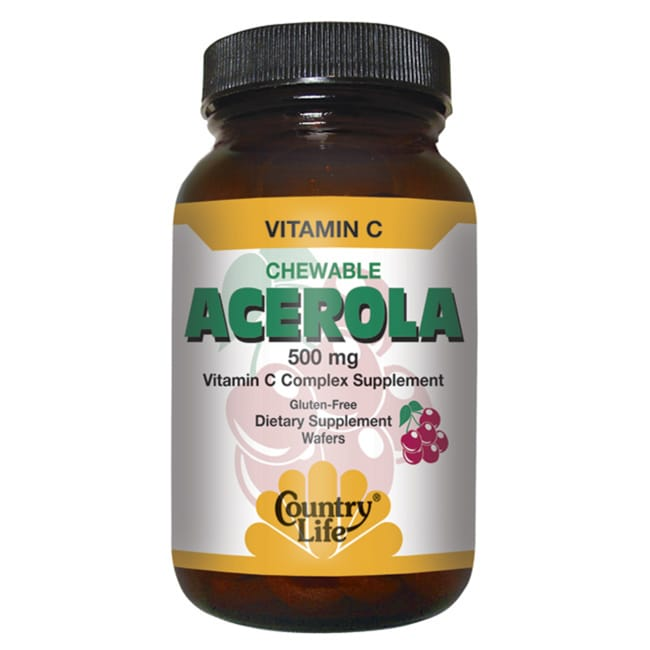 Country Life Chewable Acerola