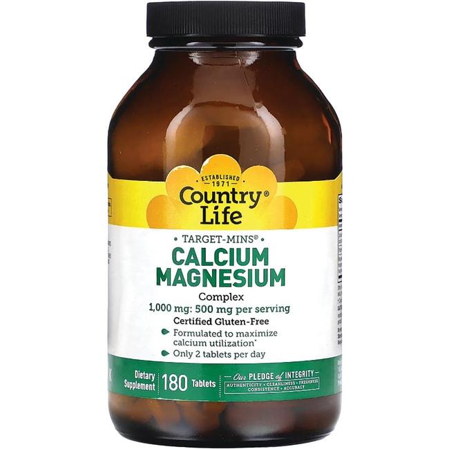 Country Life Target-Mins Calcium-Magnesium Complex