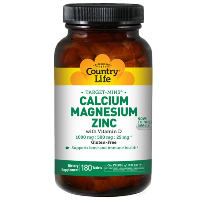 Country LifeTarget-Mins Calcium-Magnesium-Zinc