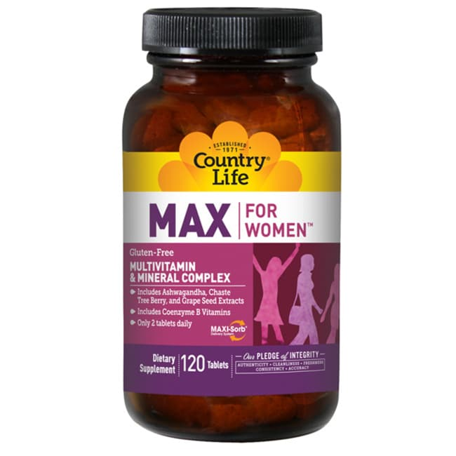 Country LifeMax for Women Multivitamin & Mineral Complex - With Iron