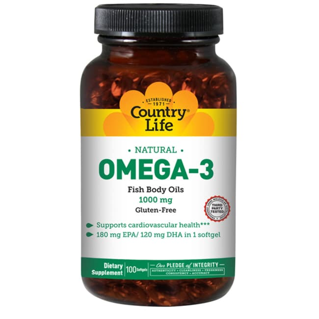 Country Life Omega-3