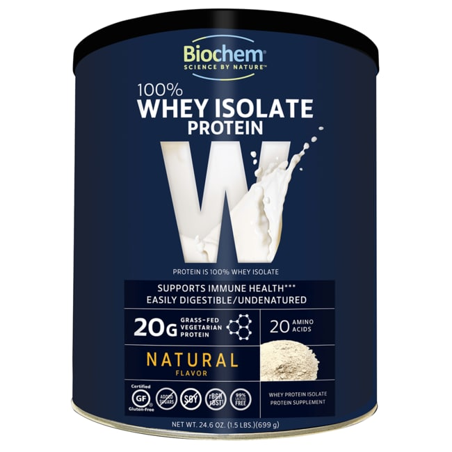 Biochem 100% Whey Protein Powder - Natural