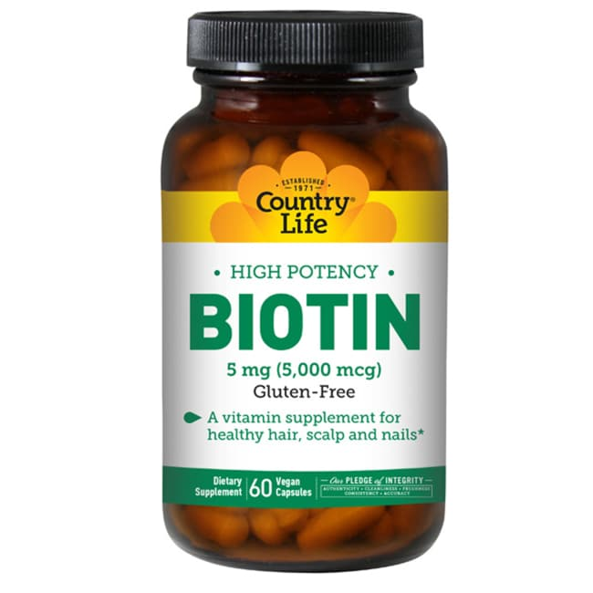 Country LifeHigh Potency Biotin