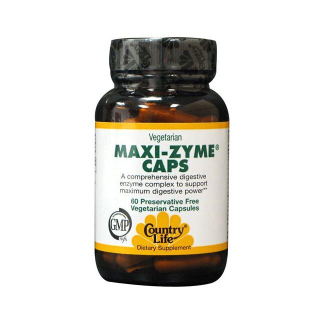 Country Life Vegetarian Maxi-Zyme Caps