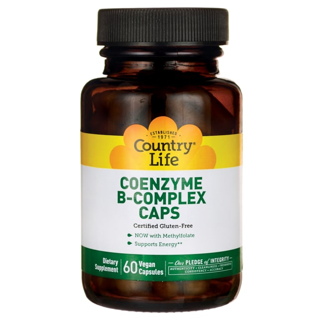Country LifeCoenzyme B-Complex Caps