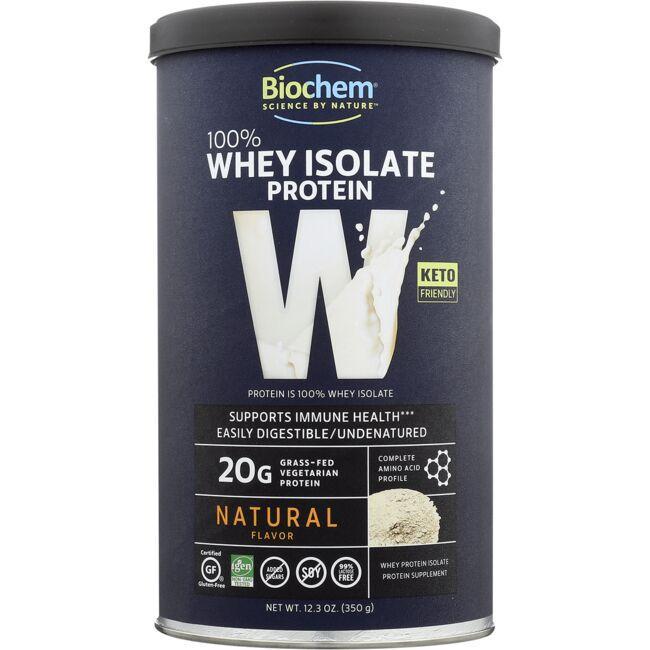Biochem100% Whey Isolate Protein - Natural Flavor