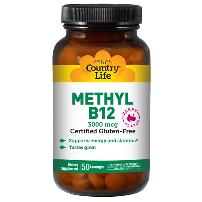 Country Life Superior B-12 Berry Flavor
