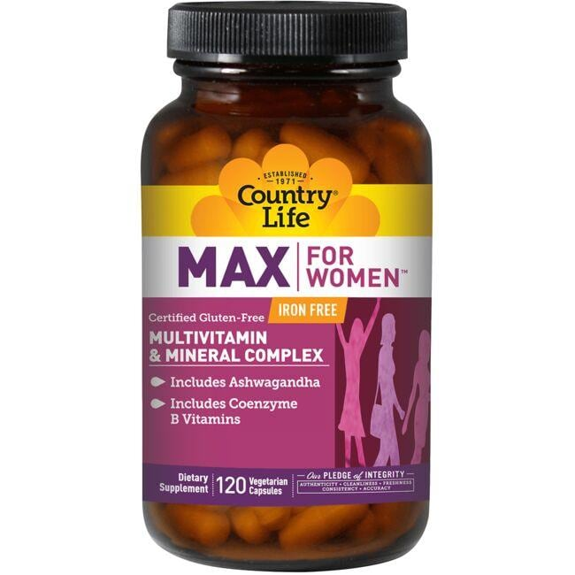 Country Life Max For Women - Iron Free