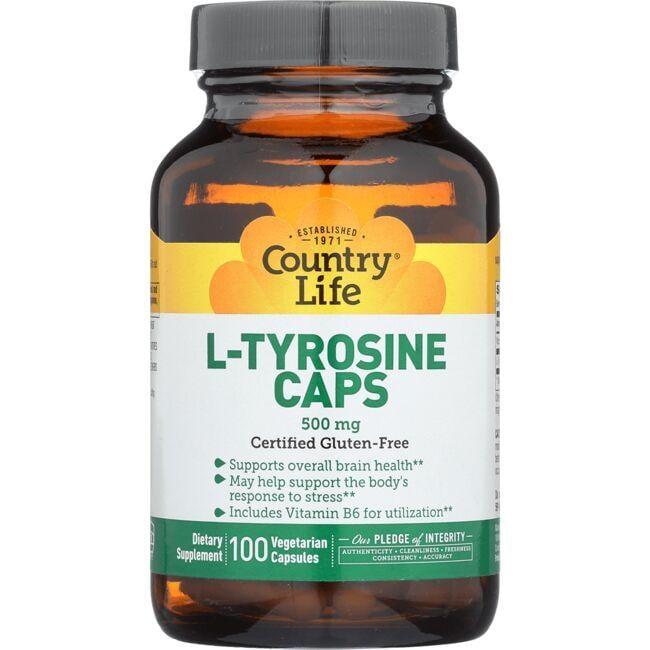 Country LifeL-Tyrosine Caps