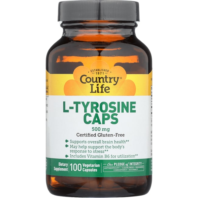 Country LifeL-Tyrosine Caps