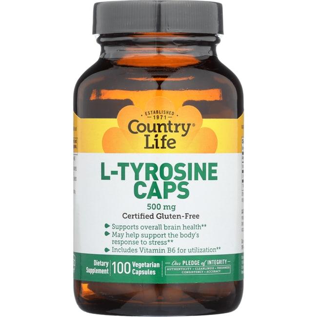 Country Life L-Tyrosine Caps