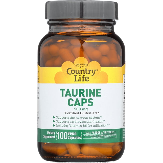 Country Life Taurine Caps