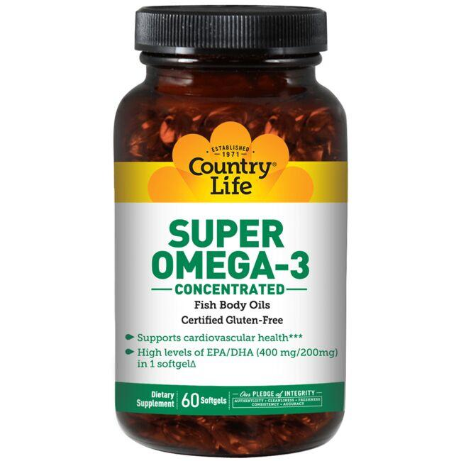 Country LifeSuper Omega-3 Concentrated