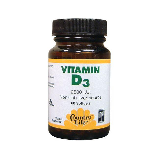 Country Life Vitamin D3