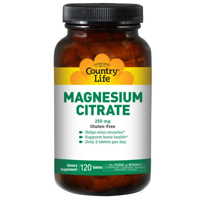 Country Life Magnesium Citrate