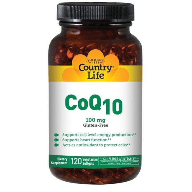 Country LifeCoQ10 100mg
