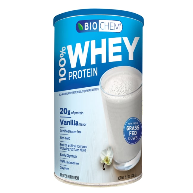 Biochem 100% Whey Protein Powder - Vanilla