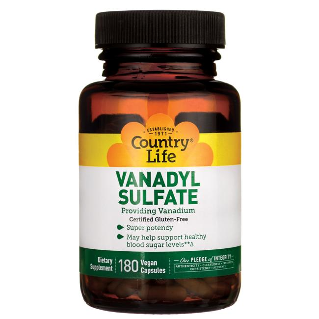 Country Life Vanadyl Sulfate