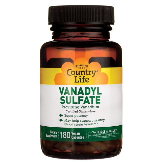 Country LifeVanadyl Sulfate