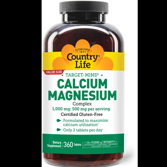 Country LifeTarget-Mins Calcium Magnesium Complex