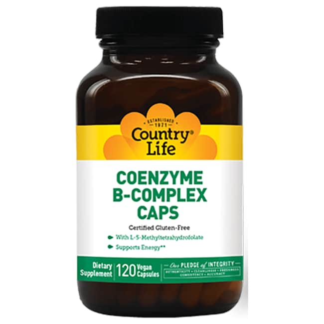 Country Life Coenzyme B-Complex Caps