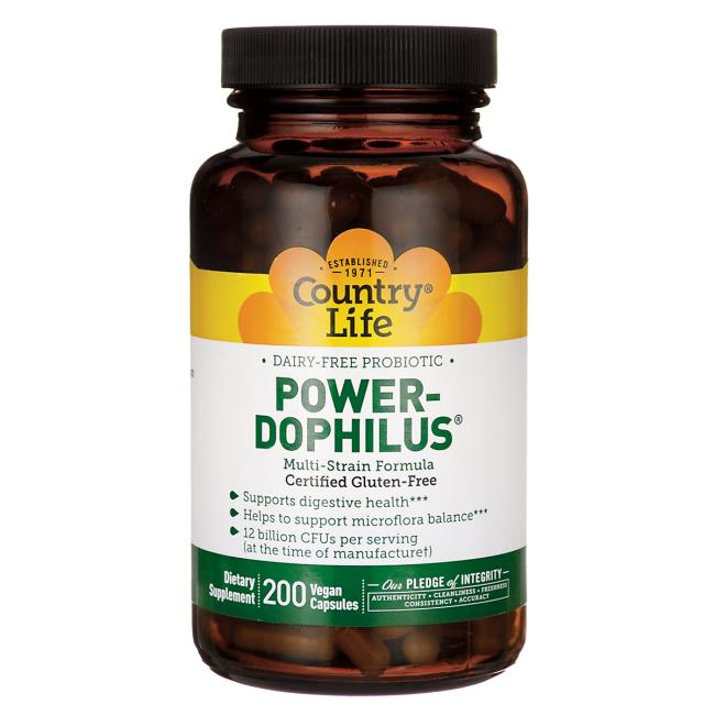 Country Life Power-Dophilus Dairy-Free Probiotic