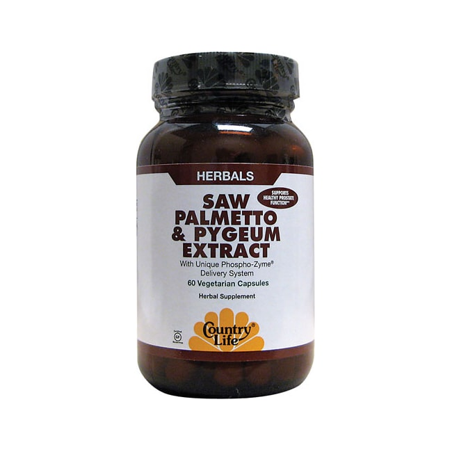 Country LifeSaw Palmetto & Pygeum Extract