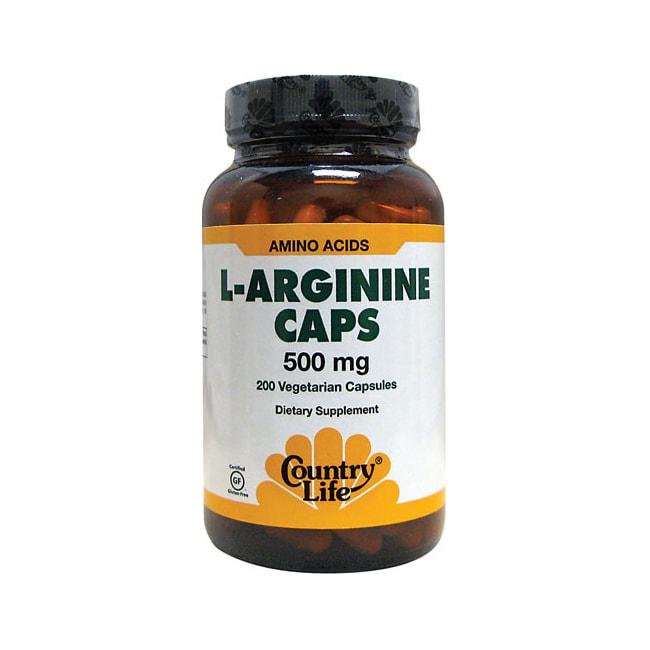 Country Life L-Arginine Caps
