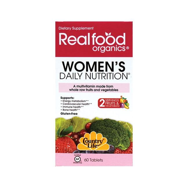 Country Life Realfood Organics Women's Daily Nutrition