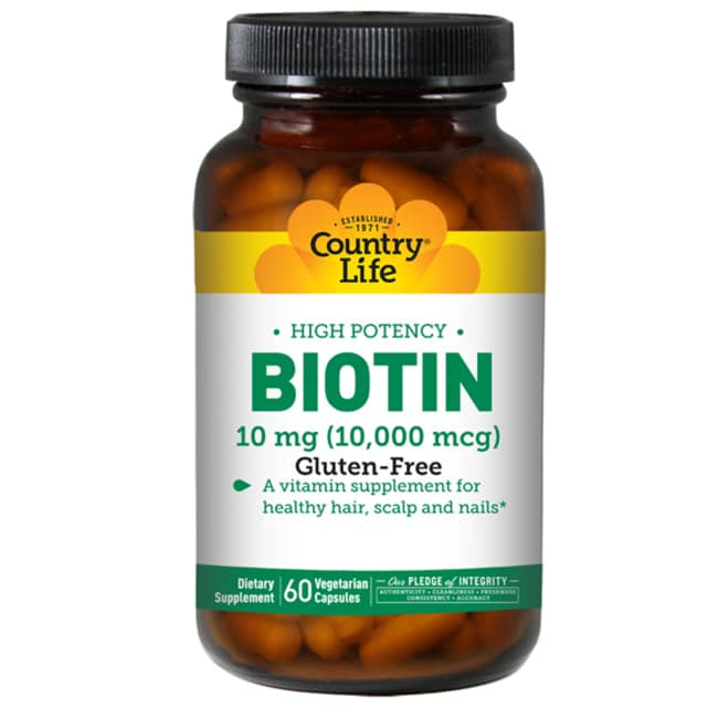 Country Life Biotin High Potency