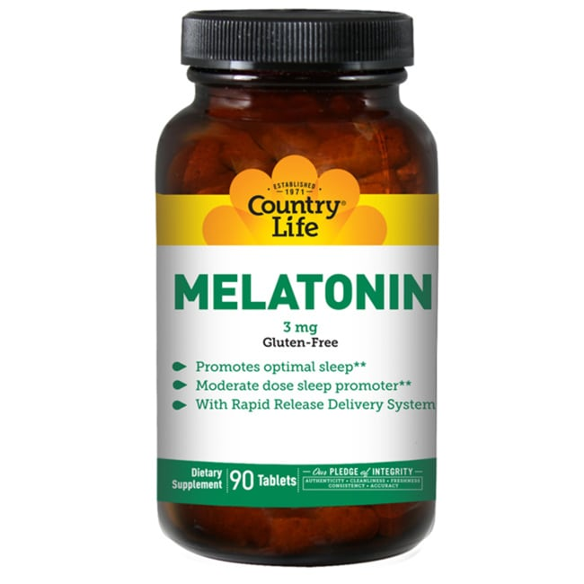 Country Life Melatonin Rapid Release
