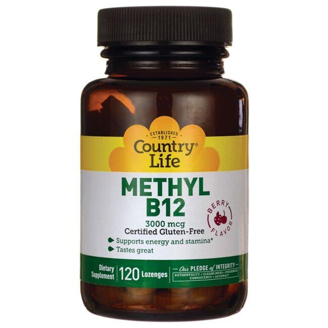 Country Life Methyl B12 Berry Flavor